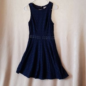 Altar'd state size small blue full dress